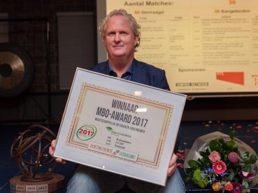 Winnaar MBO Award 2017: de Groenmakers!