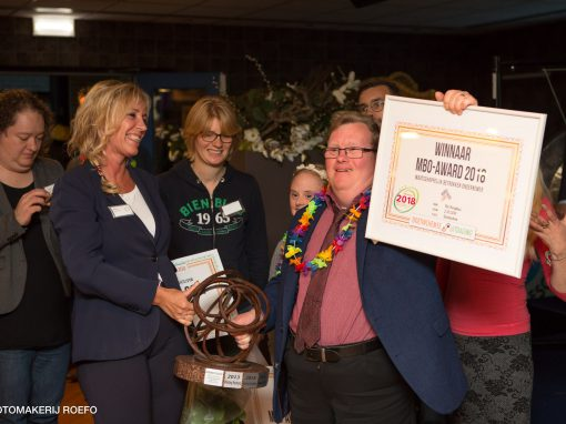 MBO Award is een boost