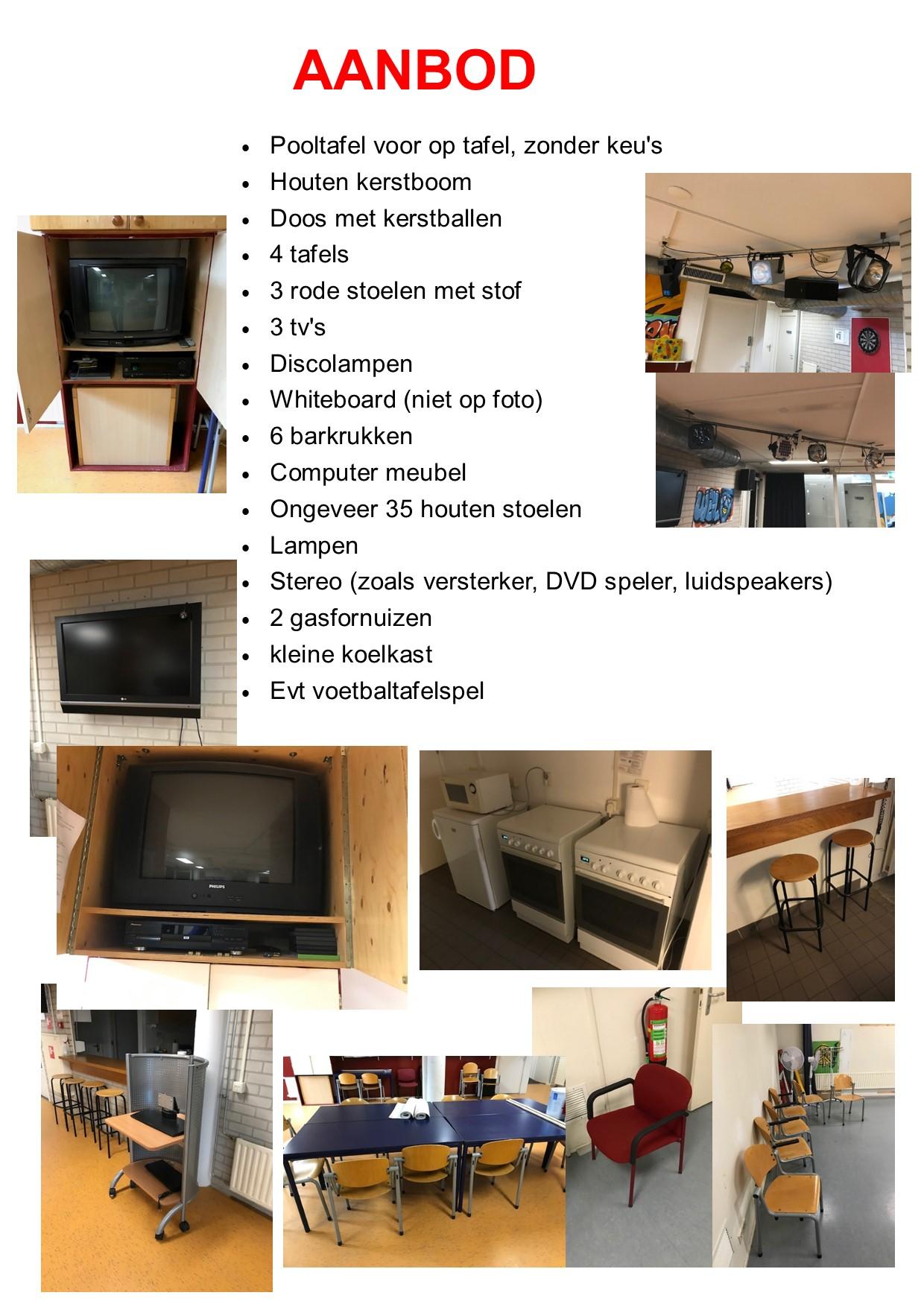 aanbod meubel hifi